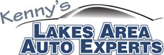 Kenny's Lakes Area Auto Logo