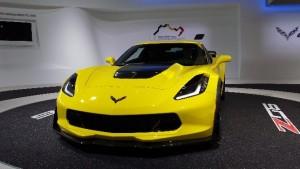 Detroit Auto Show Chevy Corvette Stingray