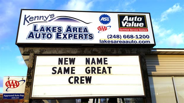 Kenny's Lakes Area Auto